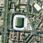 Stadion in Madrid